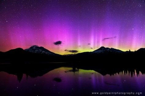 Aurora Lights At Spark Lake