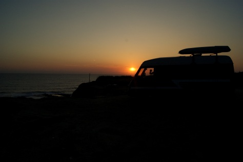 Cruiser Sunset at Batel, Portugal (27.5.2012)