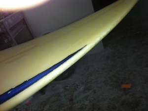 Broken Board @ Costum glass repairs