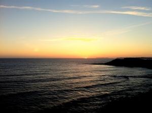 Sunset at Batel Cliffs