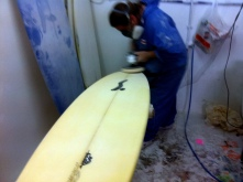 Final Touches To My Board - My Friend Joao, Custom Glass
