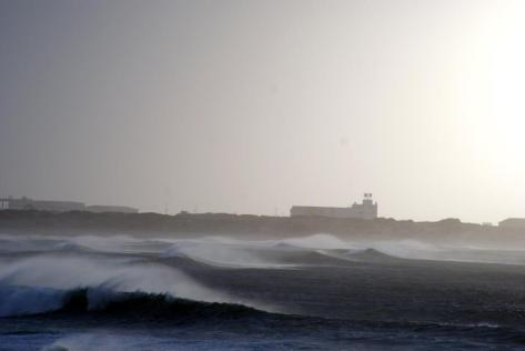 Baleal Beach, Portgal - Big Offshore Waves