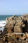 Rocky Cliff Coast, Peniche Portugal