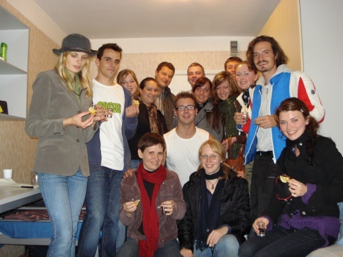 A Welcome To Erasmus In Latvia Party
