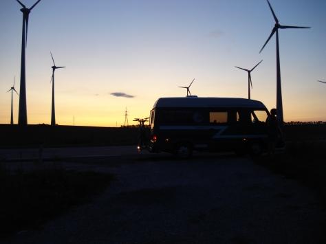 Globe Cruiser Sunset Near Viena