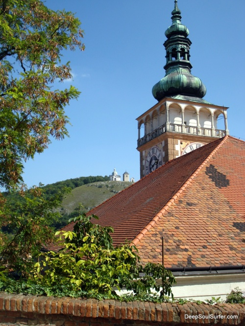 The Cathedral With The Holy Hill (Sv. Kopček) In The Background