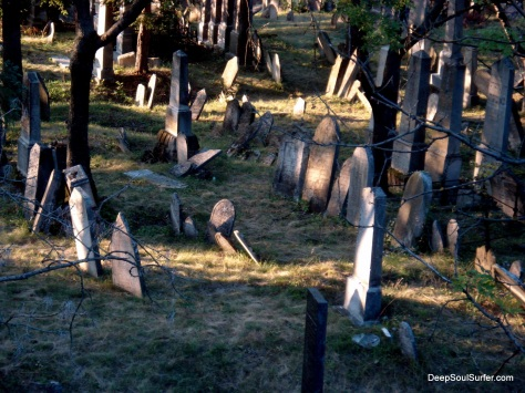 A Really Old, Jewish Forest Graveyard, Mikulow, Czech Republic