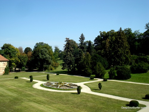 The Royal Park Behind The Castle