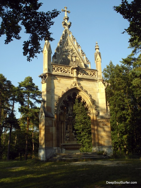 A forest Shrine, UNESCO Heritage, Czech Republic, Valitece, Lednice