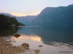 Amazing Ending Day @ Lake Bohinj, Slovenia