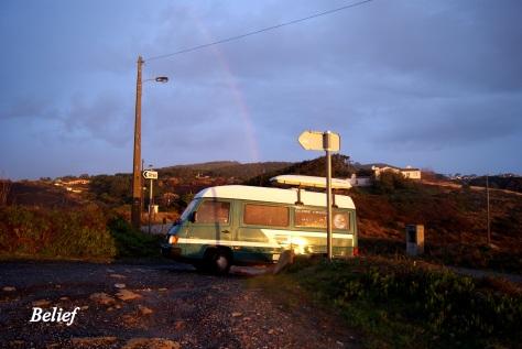 Rainbow Globe Cruiser, Cabo Da Roca, Portugal 2011