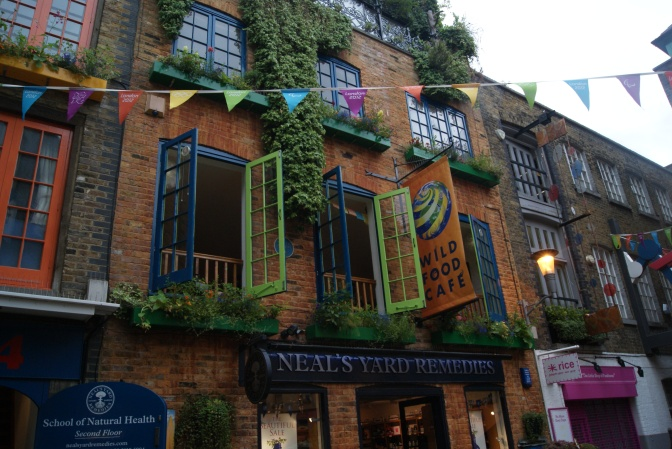 Neil's Yard, Covent Garden, London UK