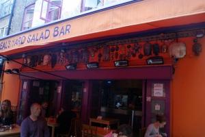 Neil's Yard Buda Bar, London UK