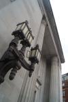 The Mighty Fremasons United Grand Lodge Main Entrance, London UK