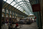 Inside Covent Garden Market, London UK
