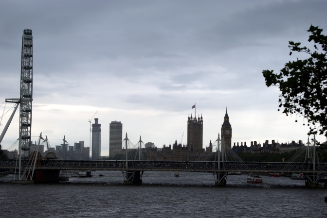 The London Eye, Big Ben, Westminster Palace