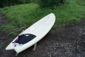 Volcom Fishtail Surfboard - Lake Bled