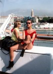 Sexy Woman In The Summer Of 1985, Split Croatia