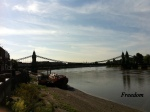 Hammersmith Bridge, River Themes, London UK
