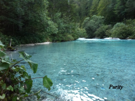 Aquamarine, Slap Peričnik, Slovenia