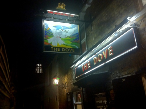 The Dove, Hammersmith, London UK