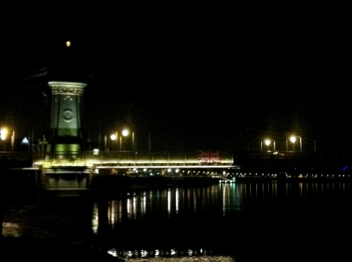 The Hammersmith Bridge, London UK