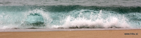 Breaking Wave, Baleal Beach Portugal