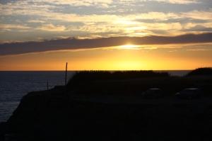 Heavenly Sunset At Batel Surf Spot, Peniche Portugal