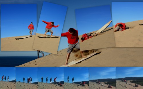 Sand Surfing Epic Fail - Morocco