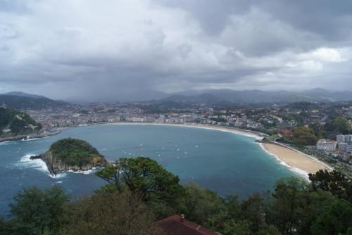 San Sebastian, Spain - Panoramic View