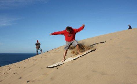 Sand Surfing, Marocco