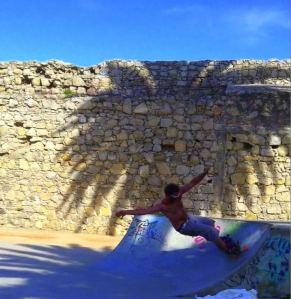 Skate Surfing @ Peniche, Portugal