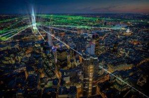 The Shard At Night Laser show - Attraction