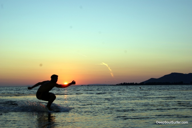 Skim Boarding @ Neretva Kitesurf Center, Neretva River, Croatia