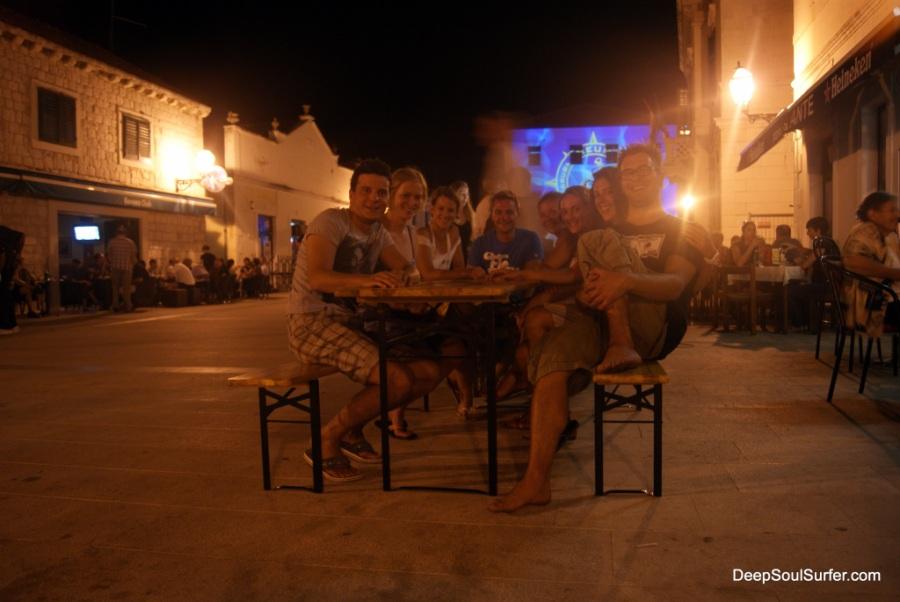 Ypsilon Dinner At Opuzen, Croatia