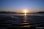 Amazing Sunset , Neretva River, Croatia