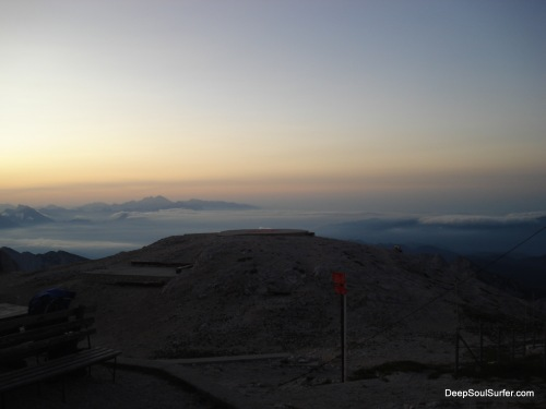 The Dawn Of A New Day, At The Triglav Mountain
