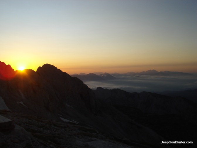 Sunrise At Triglav Mountain, Slovenia