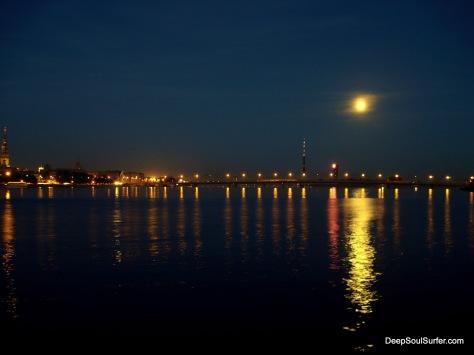 Full Moon In Riga