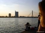 Spanish Sunset @ Daugava River, Riga, Latvia