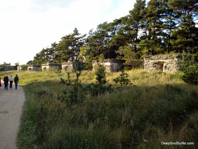 The Fort Buildings Of The Karosta Prison Defence System