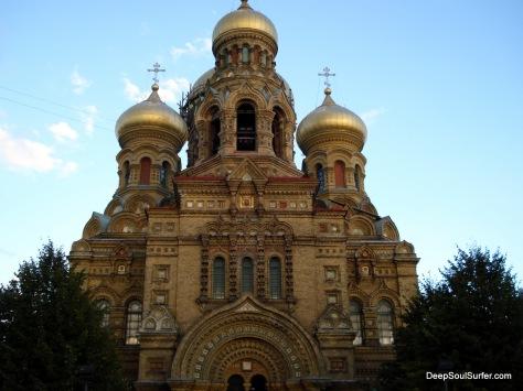 Russian Cathedral, Karosta Prison Complex, Liepaja, Latvia