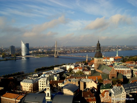 Old Riga, From Saint Peter's Church Tower, RIga Latvia