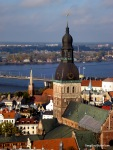 Old Riga, From Saint Peter's Church Tower, RIga Latvia