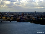 Riga Old City View From TV Tower