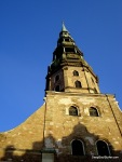 Saint Peter's Church Tower, Riga Latvia