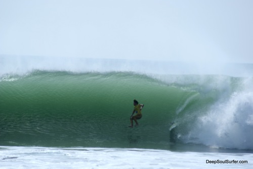 Boardless Surfing @ Supertubos, Rip Curl Pro 2011 Portugal