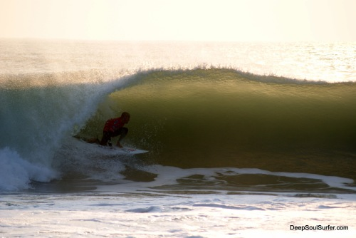Master Kelly Slater - In The Barrel, Sunset Rip Curl Pro 2011, Supertubos, Portugal