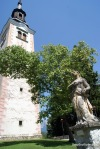 The Church At Island If Bled, Slovenia