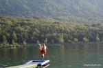 Acrobatics @ Lake Bohinj, Slovenia